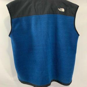 North face vest XL Black / Blue